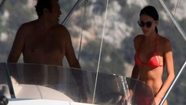 Yurdal Sert ile sevgilisi Tatiana Tereschuk tatilde