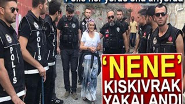 Narkotik operasyonunda 'Torbacı Nene' kıskıvrak yakalandı!