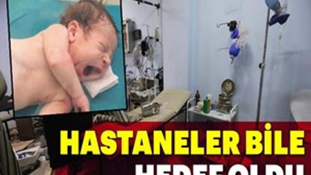 İdlib'de hastaneler bile hedef oldu!