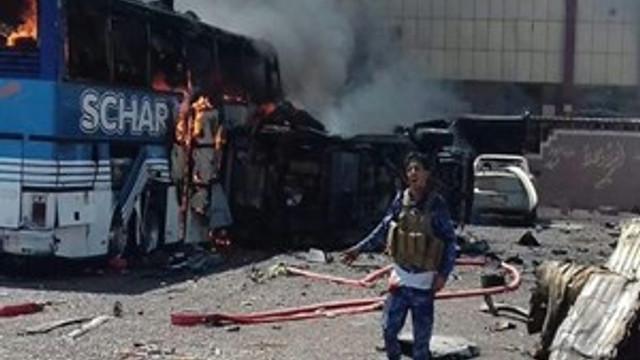 Irak'ta büyük patlama!...