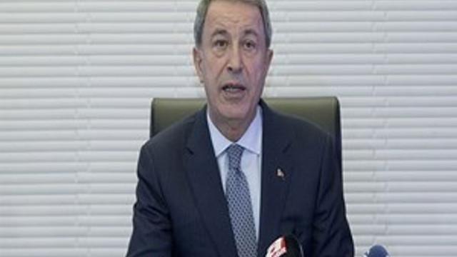 Milli Savunma Bakanı Hulusi Akar'dan flaş açıklama!
