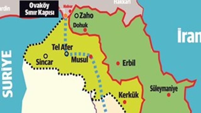 Irak'ta üç ayrı gümrük noktası kuruldu