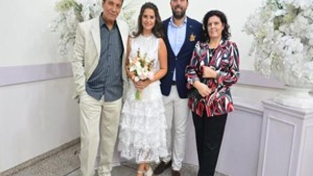 Bulut Aras'ın oğlu evlendi
