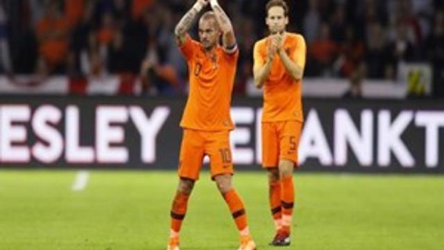 Wesley Sneijder veda etti