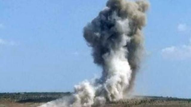 İdlib'in güneyine hava saldırısı!