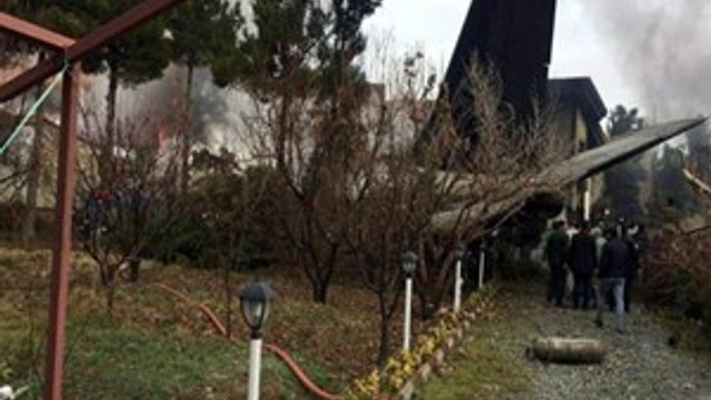 İran'da uçak düştü: 14 ölü!