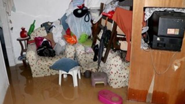 Fethiye'de sel baskını
