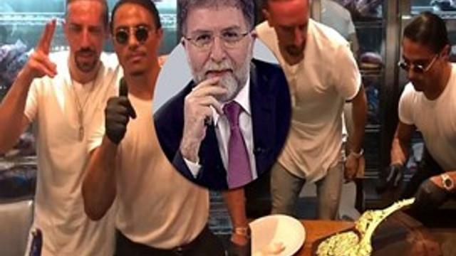 Ahmet Hakan'dan çok sert Nusret tepkisi