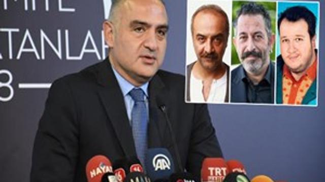 Bakan Ersoy'dan 'sinema gerginliği' açıklaması