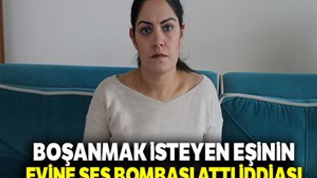 Boşanma aşamasındaki kocanın eve ses bombası attığı iddiası!