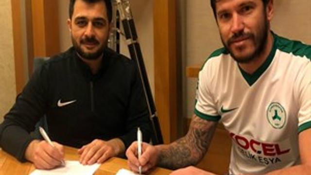 Giresunspor, Cristian Tanase'yi renklerine bağladı