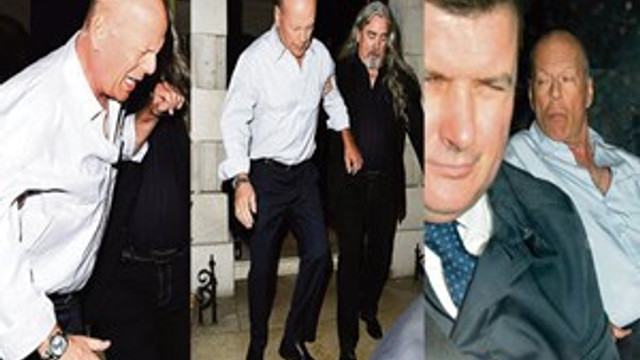 Bruce Willis alkolü fazla kaçırdı
