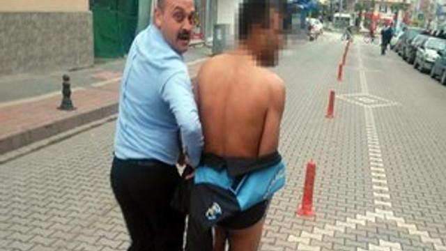 Bursa'da çıplak vatandaş şoku!