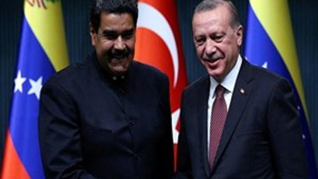 Maduro canlı yayında Erdoğan'a mesaj gönderdi