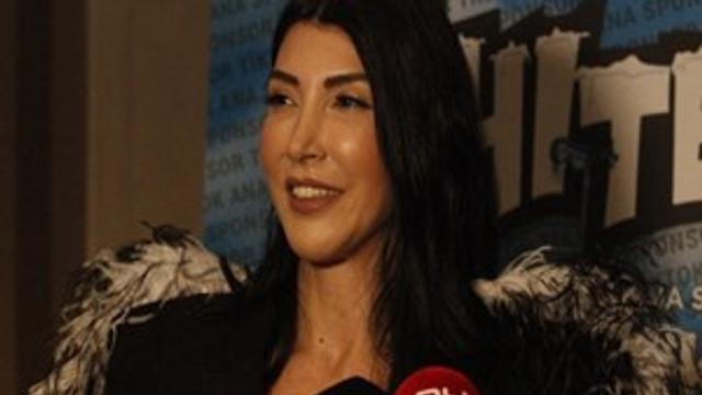 Hande Yener Uludağ'da sahne aldı