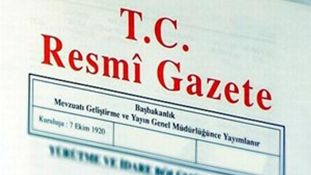 HSK Kararı Resmi Gazete'de