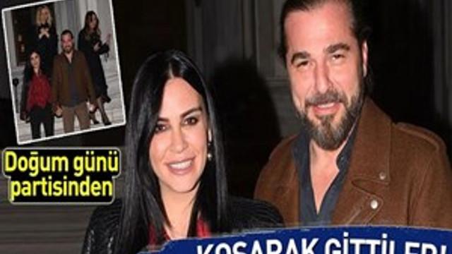 Engin Altan Düzyatan ve Neslişah Alkoçlar partiden koşarak çıktı!
