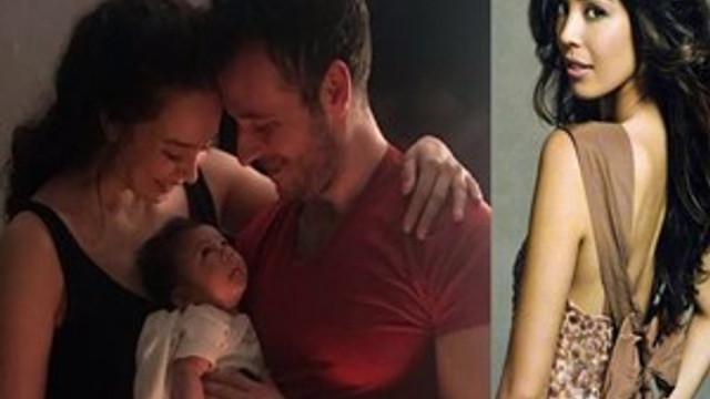 Azra Akın'ın mutlu aile tablosu