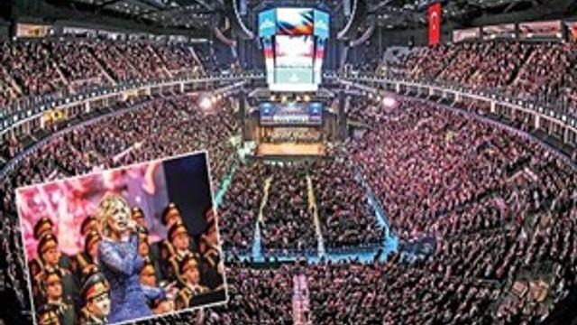 Kızılordu'yu 20 bin kişi dinledi