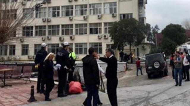 İzmir'in ünlü hastanesinde yangın çıktı!