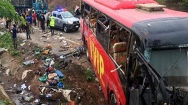 Feci trafik kazasında 60 kişi yaşamını kaybetti!