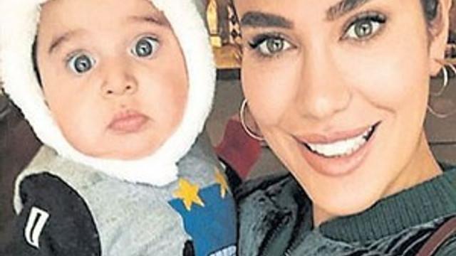 Gamze Karaman oğlunun doğum tarihini koluna yazdırdı