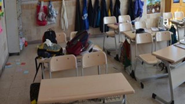 Deprem bölgesinde okullar 2 gün tatil edildi