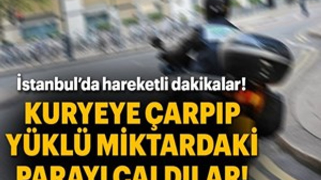 Şişhane'de 300 bin dolarlık gasp!