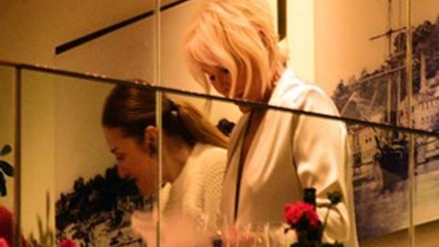 Ajda Pekkan Kültür ve Turizm Bakanı'nın eşiyle yemekte buluştu