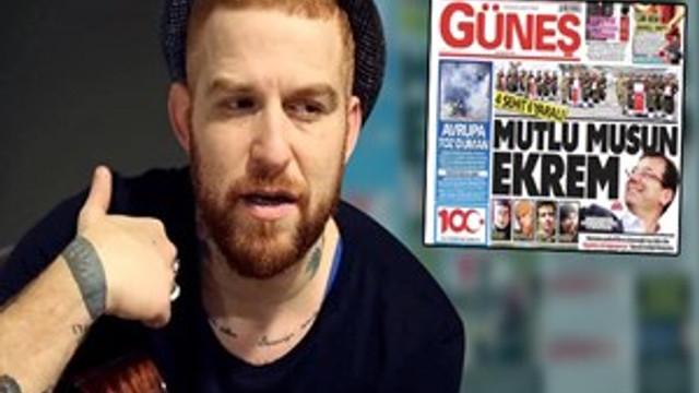 Gökhan Özoğuz Güneş Gazetesi'ne ateş püskürdü!