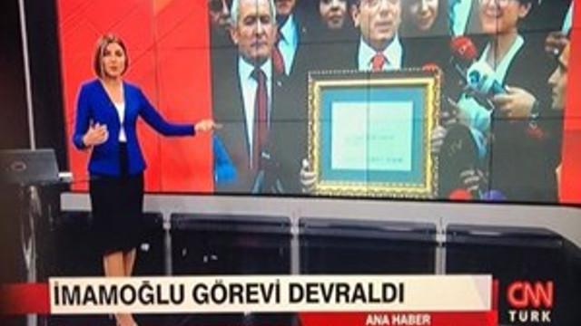 İmamoğlu skandalı CNN Türk'ü tepetaklak etti!