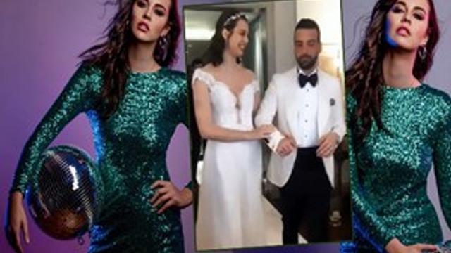 Sezgi Sena Akay evlendi