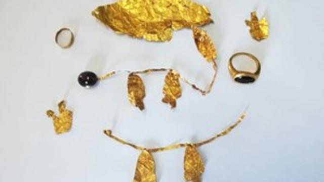 Sivas'ta 2 bin 500 yıllık taç ele geçirildi