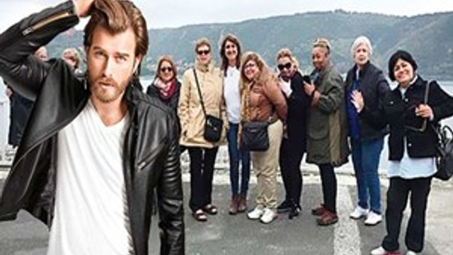İstanbul'da Kıvanç Tatlıtuğ turu