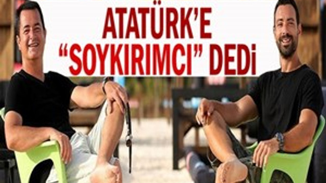 """Yunan sunucu Atatürk'e """"soykırımcı"""" dedi"""