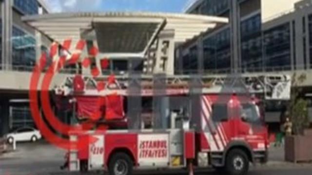İstanbul Anadolu Adalet Sarayı'nda korkutan yangın