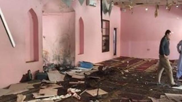Pakistan'da bir camide patlama!