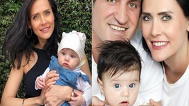 Fatoş Kabasakal sevimli kızıyla poz verdi