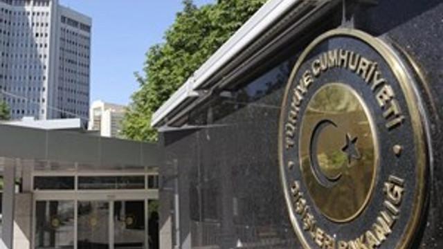 Dışişleri Bakanlığı'ndan İsrail'in saldırısına sert tepki
