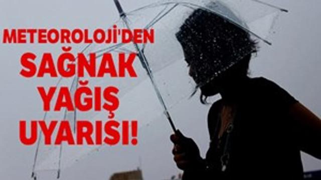 Dikkat!.. Bugün yağışlı geçecek!