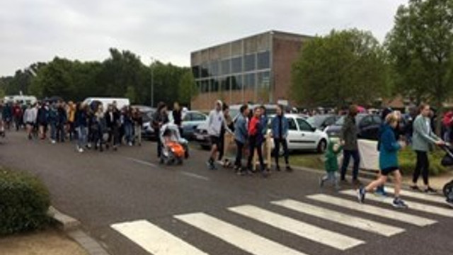 Belçika'da bomba ihbarı sebebi ile okullar boşaltıldı
