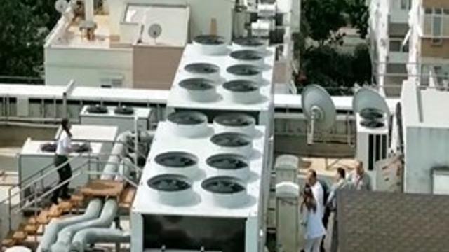 Antalya'da bir hastanenin klima bölümünde patlama!