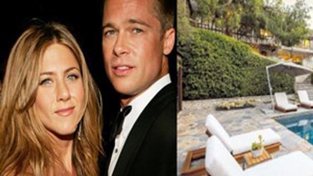 Brad Pitt ve Jennifer Aniston'ın aşk yuvası satışa çıktı