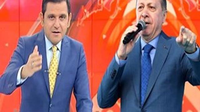 Fatih Portakal'dan Erdoğan'lı canlı yayın mesajı!