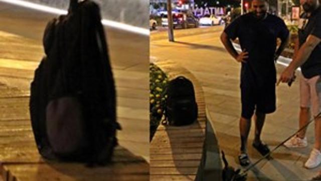 Network uzmanı gencin unuttuğu sırt çantası ortalığı karıştırdı!