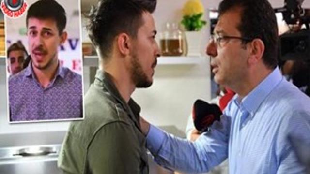 O esnaf, AKP'nin reklamında oynamış!