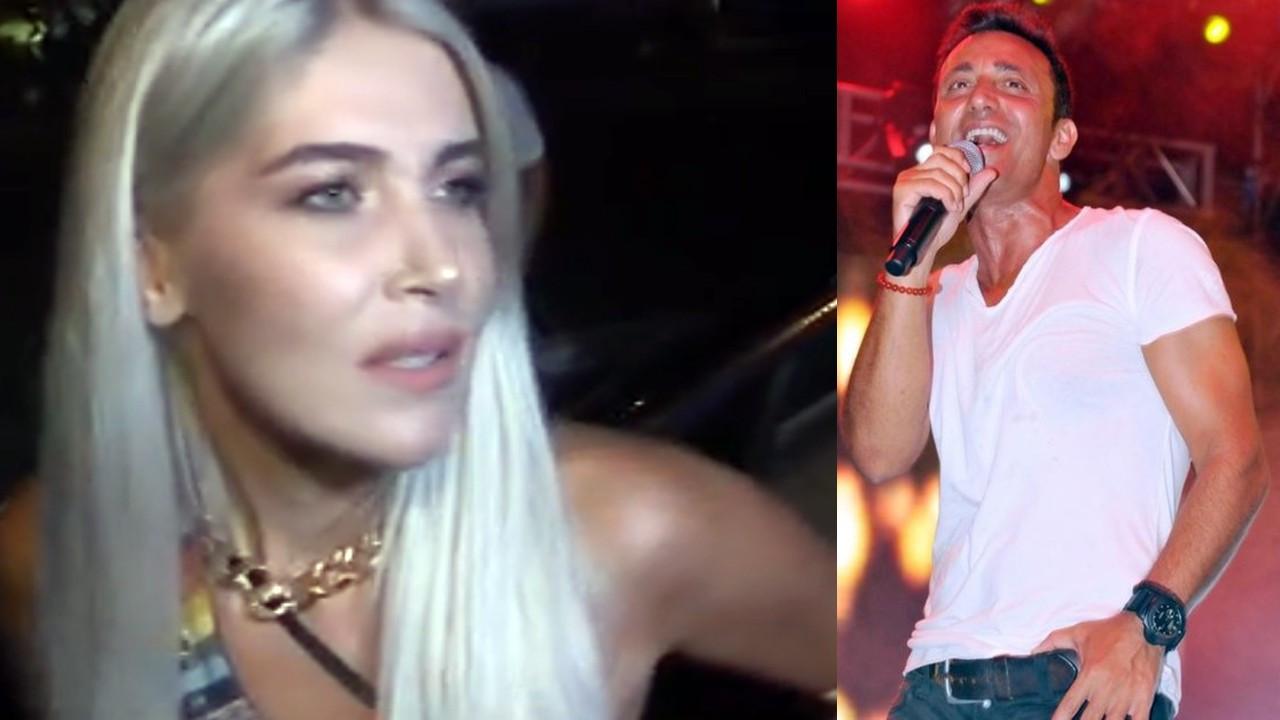 Mustafa Sandal ve Melis Sütşurup'tan aşk pozu