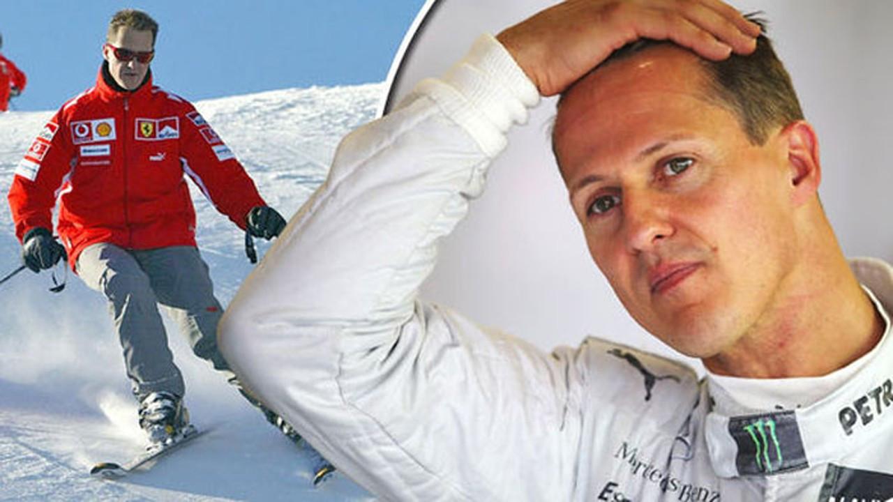 Formula 1 pilotu Michael Schumacher'den son dakika haberi
