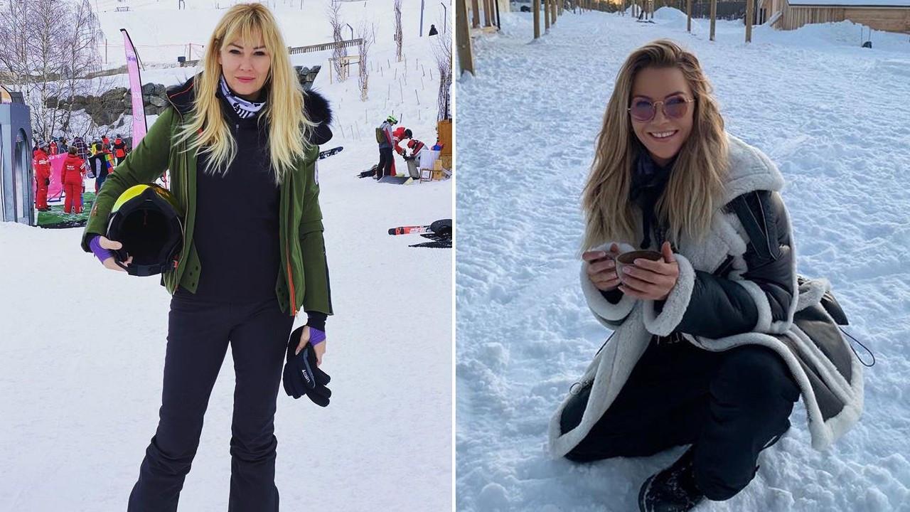 Pınar Altuğ ve İvana Sert'in sponsorlu tatili