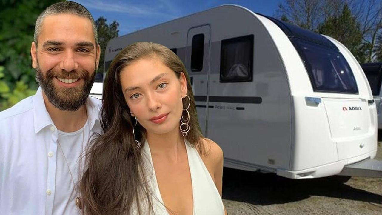 Neslihan Atagül ve Kadir Doğulu'nun karavan tutkusu!